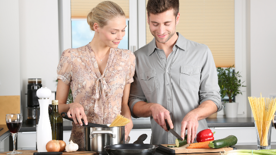 Mindfulness informal mientras cocinas